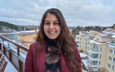 Rosaline Marbinah ny demokratiambassadör