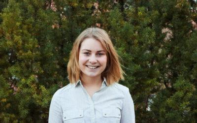 Lotta Velin representerar sveriges unga i COP24