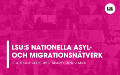 LSU:s nationella asyl-och migrationsnätverk