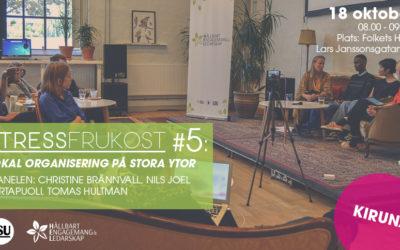 STRESSFRUKOST #5 i Kiruna!