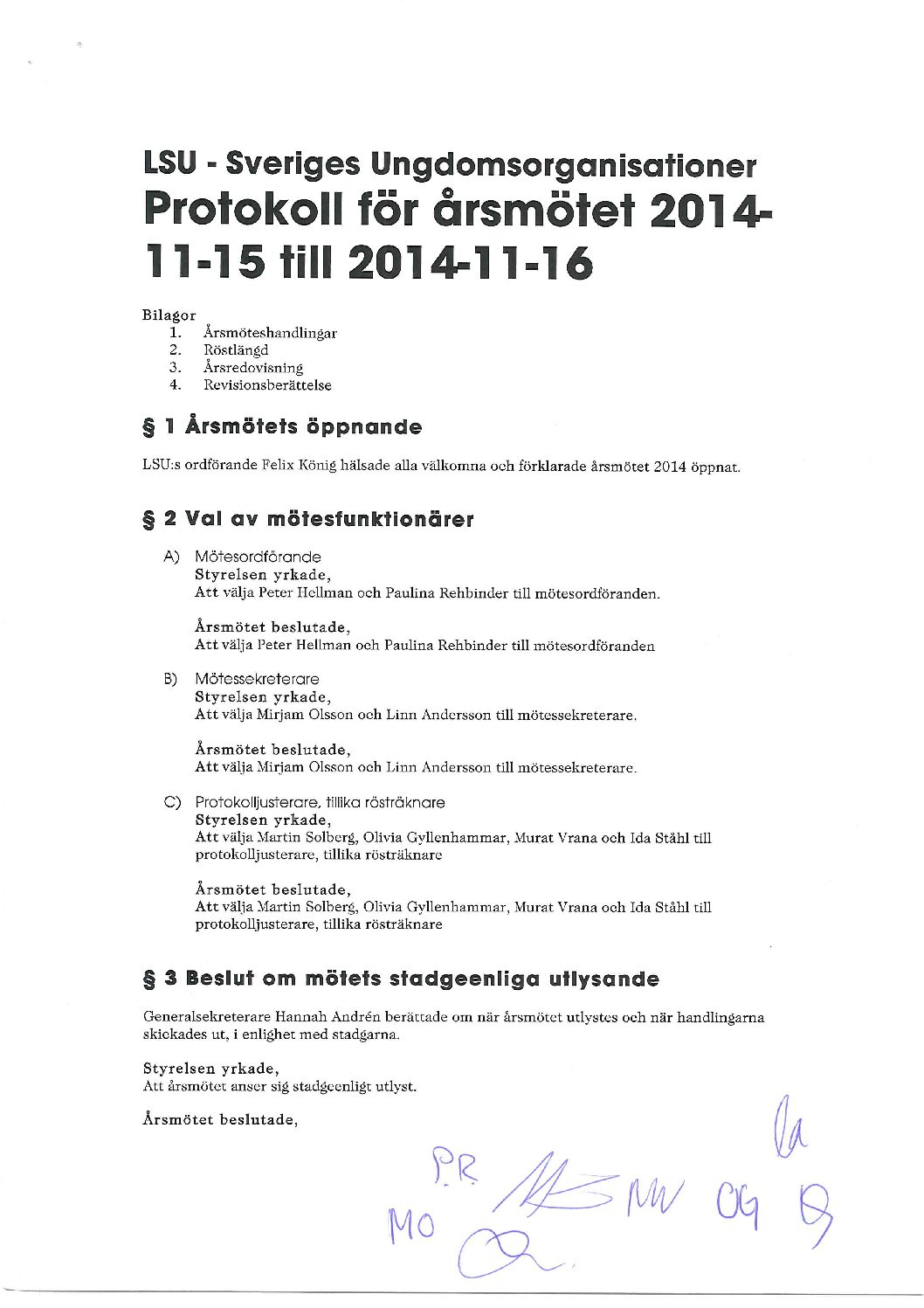Årsmötesprotokoll 20141115-16_signerat