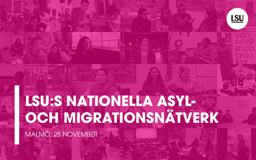 LSU asylnätverksträff i Malmö