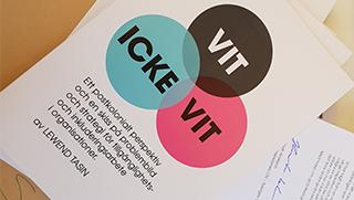 Rapportsläpp VIT-ICKE-VIT