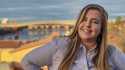 Alice väljs in i Advisory Council on Youth's presidium
