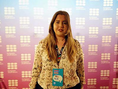 Alice Bergholtz är ny representant i Europarådets kommitté för ungdomsfrågor
