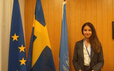 Blogginlägg från vår FN-representant Vlora