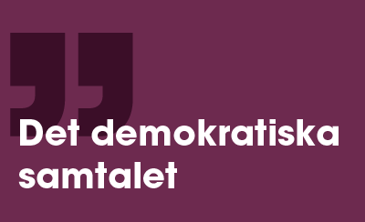 En kommentar på det demokratiska samtalet