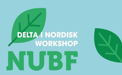 Möjlighet till nordisk samverkan – delta på ungdomsworkshop!