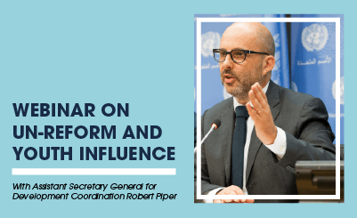 UN-reform and youth influence